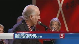 Grand Ole Opry Member George Hamilton IV Dies At 77
