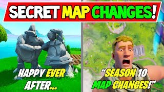 "*NEW* FORTNITE SECRET MAP CHANGES for SEASON 10 Early! ""Goodbye Season 9!"" + #FortniteIRL Jazwares!"