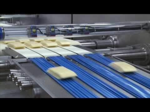 SEALPAC RE25 for sliced cheese applications Arla Götene, Sweden