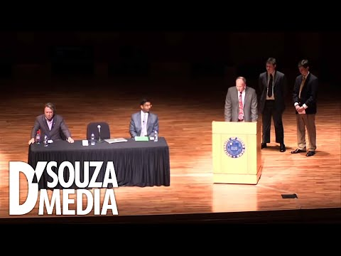 "Debate: D'Souza vs. Christopher Hitchens on ""Does God Exist?"""