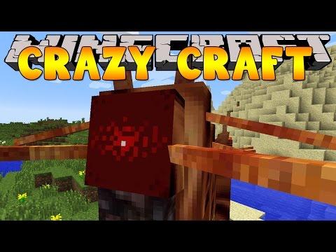 Minecraft Crazy Craft 3.0 : CATERKILLER ATTACK #7
