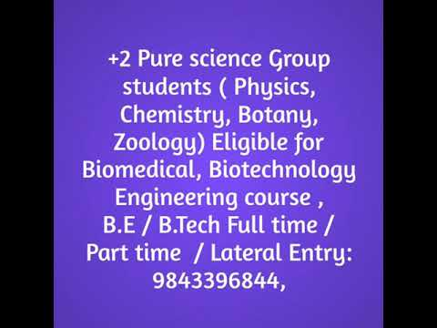 Top best engineering college course offered Management quota BTech Part time in Tamilnadu, Kerala