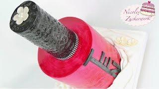 XXL Nagellack Flaschen Motivtorte I Nail Polish Cake I Fondant Torte von Nicoles Zuckerwerk