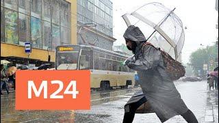 Смотреть видео Когда в Москве закончится дождь - Москва 24 онлайн