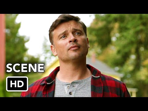 DCTV Crisis On Infinite Earths Crossover - Smallville's Clark Kent (HD) Tom Welling Scenes