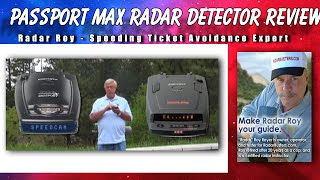 Escort Passport Max Radar Detector Review