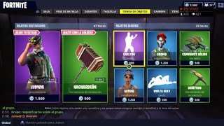 THE *NEW STORE* OF FORTNITE TODAY SEPTEMBER 28: NEW EPIC SKINS, PICO AND ALADELTA!