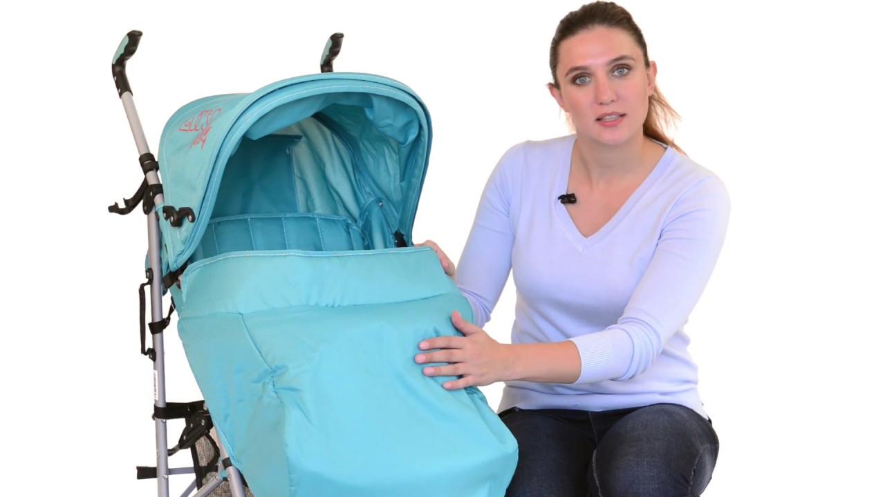 Детская коляска трость Liko Baby BT-109 City Style
