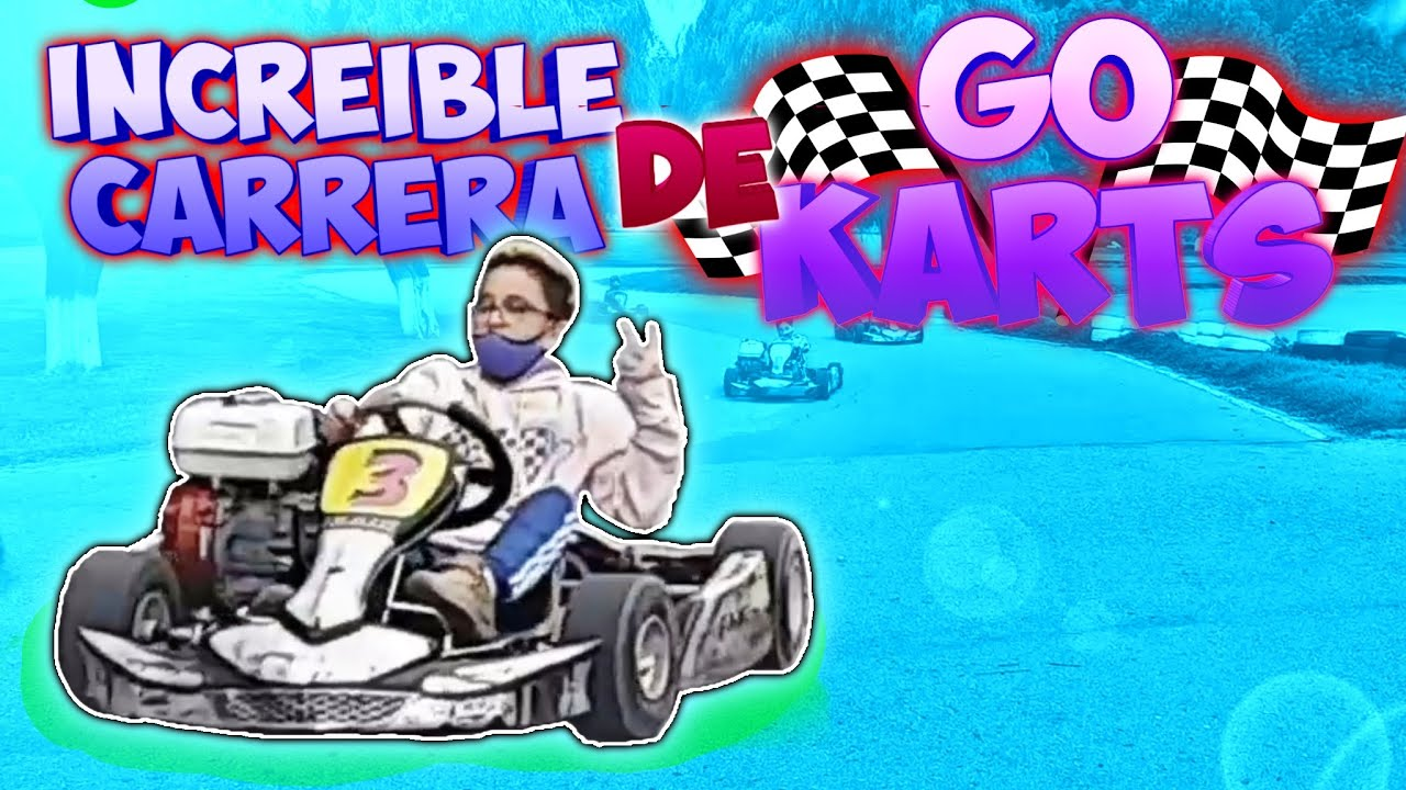 Un Choque De Go Karts