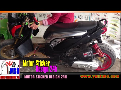 honda zoomer x 2015 zoomer x 125 new modified to rim 2 youtube. Black Bedroom Furniture Sets. Home Design Ideas