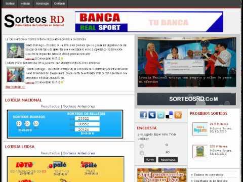 Sorteos rd sorteos rd banca real sport youtube
