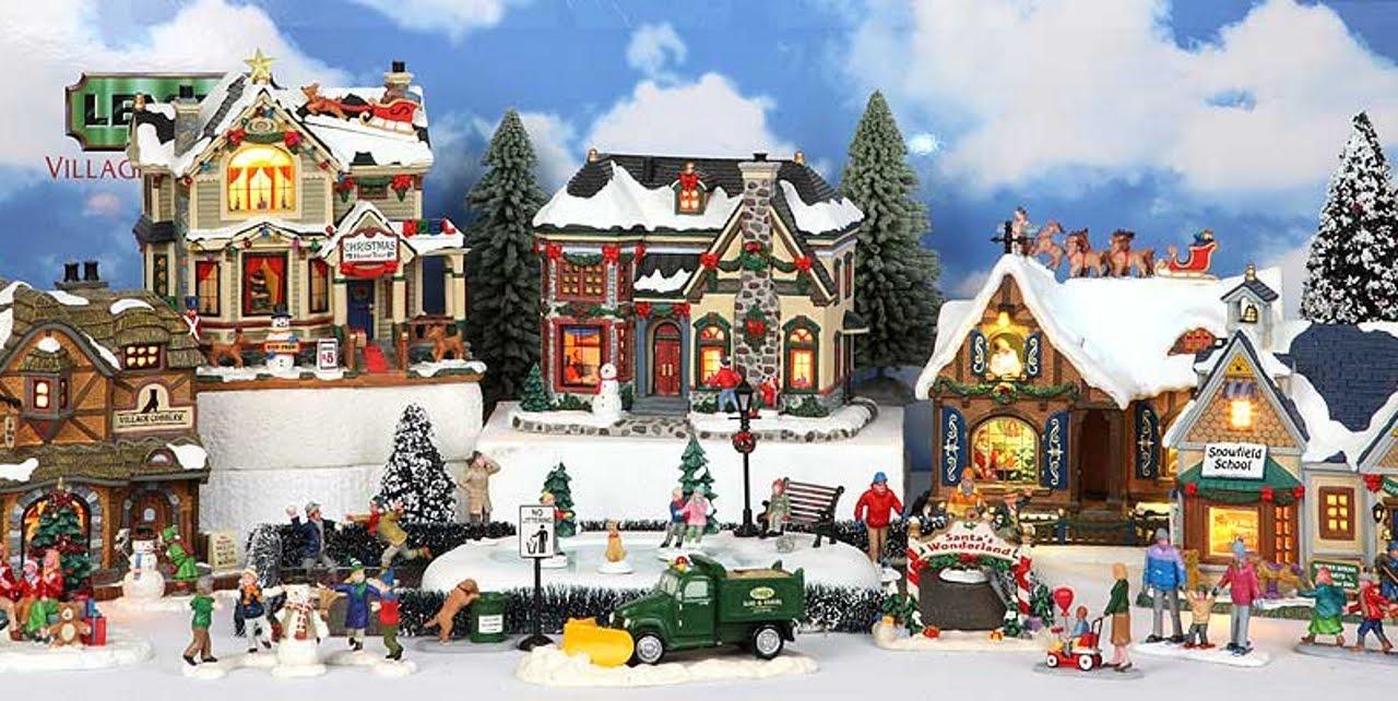 Lemax Caddington Collection Christmas Village 2015 - YouTube