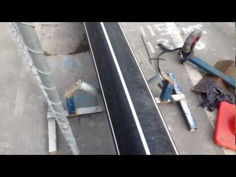 PE pipeline installation