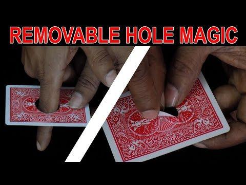 REMOVABLE HOLE MGIC