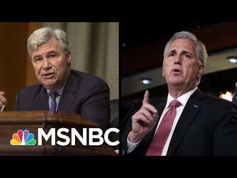 Sen. Whitehouse: Suspend Trial To Depose McCarthy And Tuberville | The 11th Hour | MSNBC