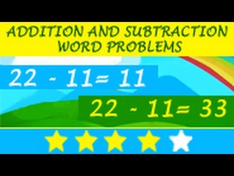 Learn Mathematics: Addition and Subtraction Word Problems - YouTube