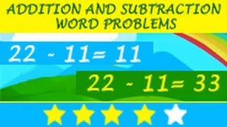 Learn Mathematics: Addition and Subtraction Word Problems