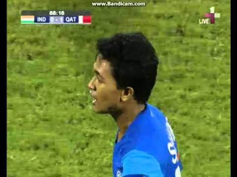 AFC U19 Championship India vs Qatar 2nd Half 4 of 5