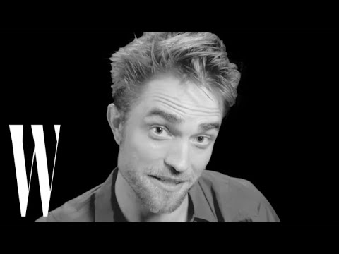 Robert Pattinson Tells the Story of His First Kiss  Screen Tests  W magazine