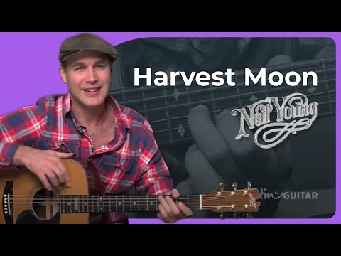 How to play Harvest Moon by Neil Young (Acoustic Guitar Lesson ST-903)