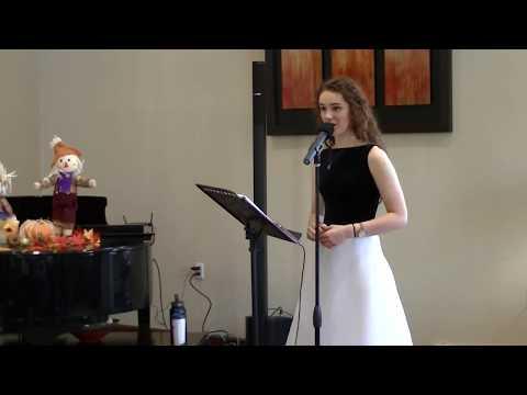 "Lauren Senden - ""The Secret of Happiness"" from Daddy Long Legs"