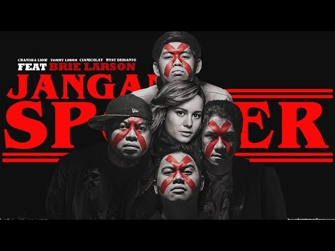 JANGAN SPOILER feat. BRIE LARSON (Official Music Video)