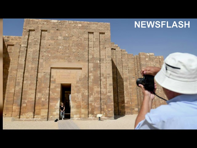 Egyptian Tomb Built By High Priest Imhotep  Is Opened After 15 Year Renovation