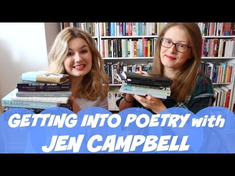 How to Get into Poetry with Jen Campbell | on #BookBreak
