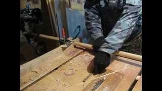 изготовление черенка с помощью дрели(Так можно быстро и просто зделать круглую