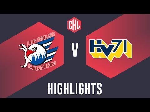Highlights: Adler Mannheim vs. HV71 Jönköping