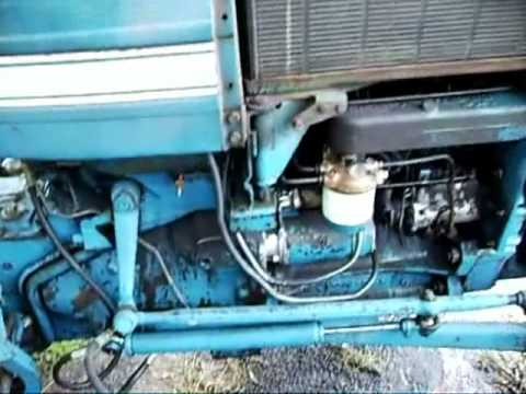 Ford 2600 Tractor Wiring Diagram Ford 3000 Quickie Youtube