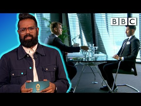 Trying to answer stupid job interview questions | The Ranganation - BBC