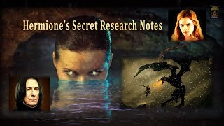 Hermione's Secret Research Notes: The Grendel of Grindelwald and the origins of the Maledictus