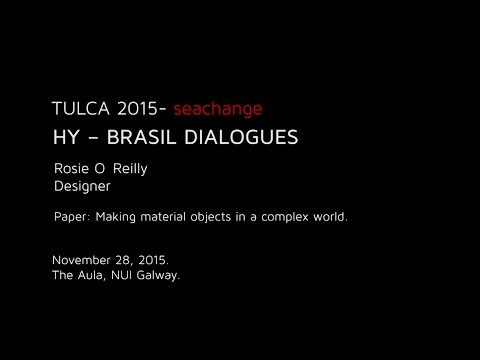 HY – BRASIL DIALOGUES : Rosie O'Reilly