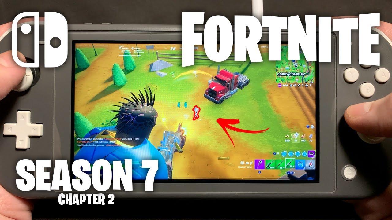 CHAPTER 2 SEASON 7 - Fortnite on Nintendo Switch Lite #368