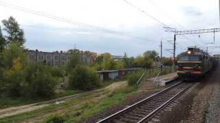 ВЛ80С-2703 с грузовым поездом