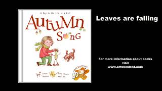 Leaves are falling - Fun Autumn Song for preschool, scarf activity songs for children