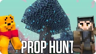¡QUIERO SER UN ARBOL! PROP HUNT | Minecraft Con Luh