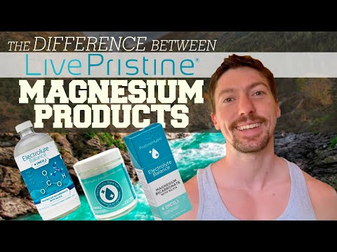 Difference Between LivePristine Magnesium Products