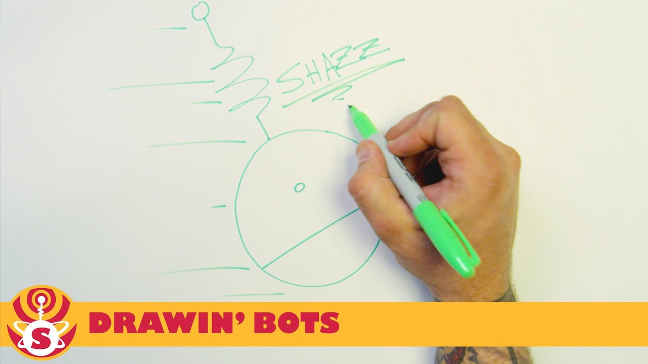 The Shazzbots! - Drawin' Bots - Shazz!