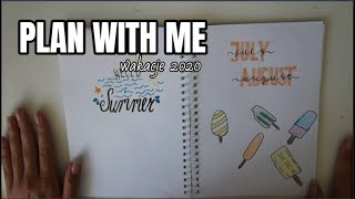 PLAN WITH ME!- wakacje 2020