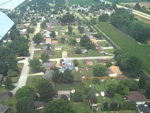 Allegiant Air - Landing in Owensboro KY