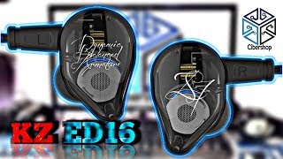 KZ ED16//Audifonos Hybridos Con Tres Drivers HIFI//Review En ESPAÑOL!!