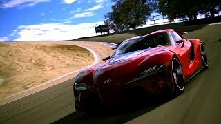 GT6 - TOYOTA FT-1 Online Time Trial - 1
