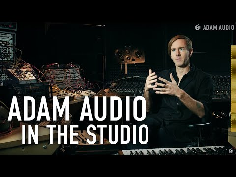 ADAM Audio In The Studio With Richie Hawtin