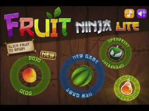 Ninja Fruit Free