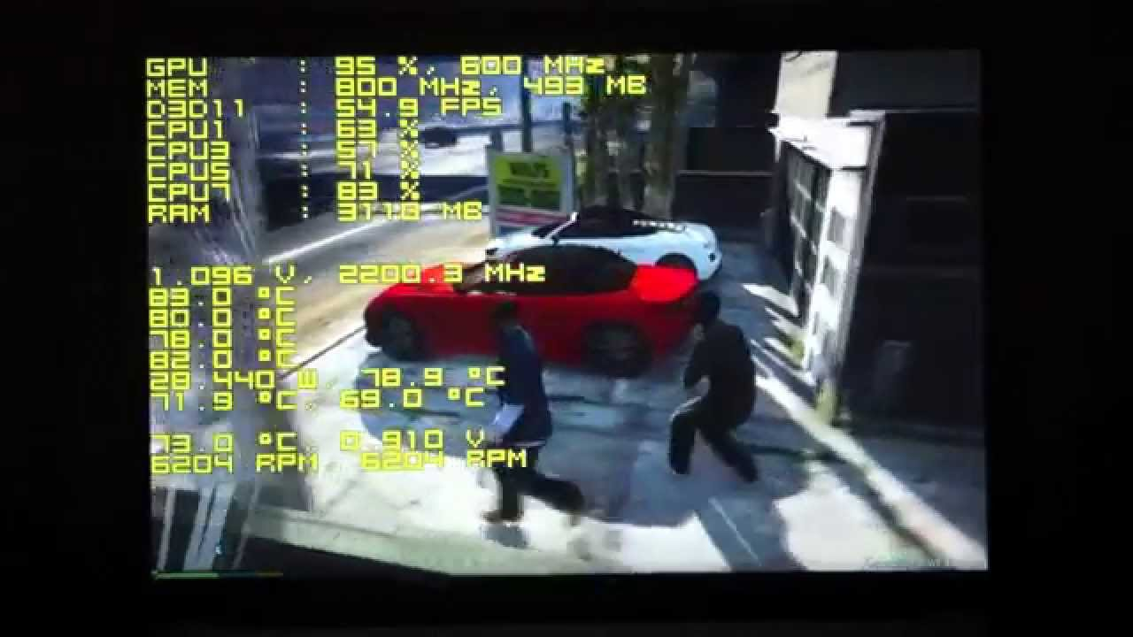 Grand Theft Auto V AMD 6750m 512 MB