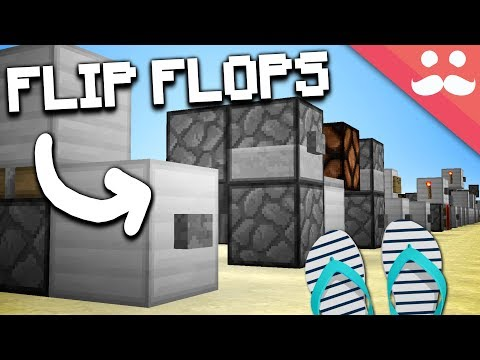 How to Make EVERY T-FLIP FLOP in Minecraft! - YouTube