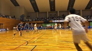 山形県東根市ハンドボール国際大会  ドイツ Aue vs  日体大