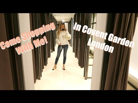 Shopping in Covent Garden & A Chat about Ads & Sponsored Content   |   Fashion Mumblr VLOGTOBER